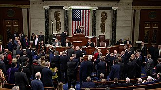 House of Representatives votes to adopt the articles of impeachment against Donald Trump House of Representatives Votes to Adopt the Articles of Impeachment Against Donald Trump.jpg