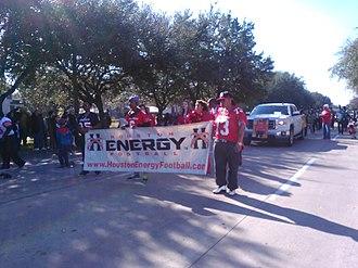 Houston Energy - Houston Energy at the 2016 MLK Day Parade in Midtown Houston