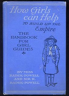 <i>How Girls Can Help to Build Up the Empire</i> book by Agnes Baden-Powell