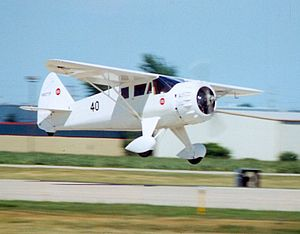 Howard DGA-6 - Mister Mulligan replica at Oshkosh, Wisconsin, 2002