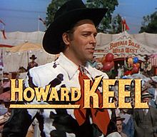 Howard Keel en el trailer de Annie Get Your Gun (1950)