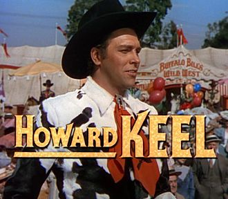 Howard Keel - from the trailer for Annie Get Your Gun (1950)