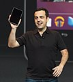 Hugo Barra unveiling the Nexus 7.jpg