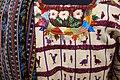 Huipil, skirt, and shawl, Tz'utujil Maya, Santiago Atitlan, view 2, mid 20th century, cotton, silk, and synthetic - Textile Museum of Canada - DSC01218.JPG