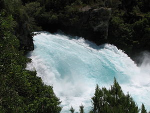 The Huka Falls, Waikato, New Zealand