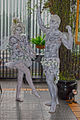 Human Statue Bodyart Bodypaint Fairy (8234683564).jpg