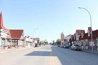 Humboldt, Saskatchewan - Humboldt's historic downtown