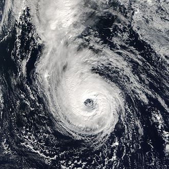 Timeline of the 2005 Atlantic hurricane season - Hurricane Epsilon displaying a classic annular structure while churning in the Central Atlantic