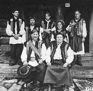 Hutsuls Ethnic group in the Carpathian Mountains