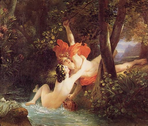 Hylas and the Nymph by François Gérard