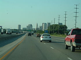 Heading northbound into Columbus from the south