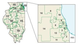 2004 United States House of Representatives elections - Illinois congressional districts in the 2004 elections