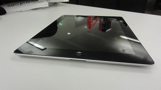 IPad 2 front view