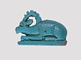 Ibex-Shaped Design Amulet Inscribed With A Crocodile and A Fish MET 26.7.50 lp.jpg