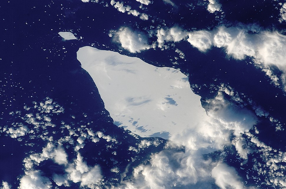 Iceberg A22A, South Atlantic Ocean