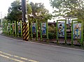 Iconic figures in Chinese military history near cemetery of military personnel in Hsinchu.jpg
