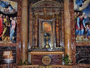 Madonna Della Strada - Altar of Madonna Della Strada