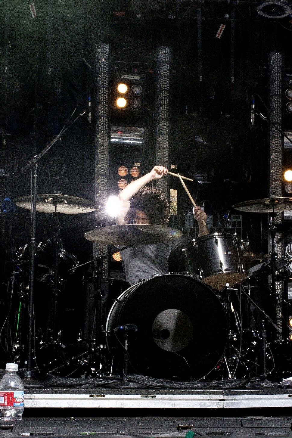 Ilan Rubin, w Nine Inch Nails, Santa Barbara, 2009