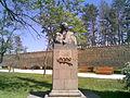 Ilia's bust in Telavi.jpg