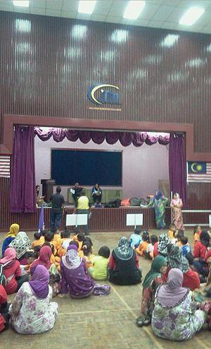 Institut Latihan Perindustrian Kuala Lumpur - The main hall.