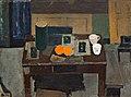 Immanuel Ibsen - Opstilling, bord med appelsiner - 1934.jpg