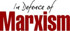 International Marxist Tendency - Logo of the In Defence Of Marxism website.