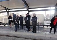 Inauguration de la branche vers Vieux-Condé de la ligne B du tramway de Valenciennes le 13 décembre 2013 (139).JPG