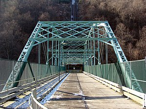 Inclined Plane Bridge
