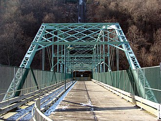 National Register of Historic Places listings in Cambria County, Pennsylvania - Image: Inclined Plane Bridge