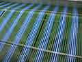 India - Colours of India - Cotton threads becoming a lungi (2508141336).jpg
