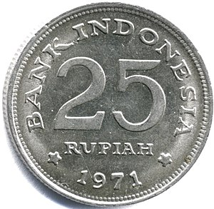 Coins of the rupiah