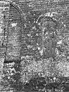 ingemetseld grafzerk aan de noord-zijde van het schip - anloo - 20022699 - rce