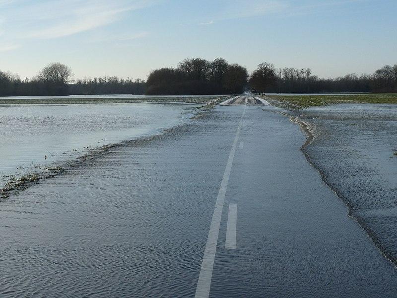 Innondation de la marne hiver 2010