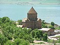 Insel Akdamar Աղթամար, armenische Kirche zum Heiligen Kreuz Սուրբ խաչ (um 920) (39526212985).jpg