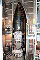 Installation of the Payload fairing around WISE.jpg