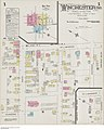 Insurance plan, sheet 1, Winchester, Ontario, May 1900 - Plan d'assurance-incendie, feuille 1, Winchester (Ontario), mai 1900 (23122513646).jpg