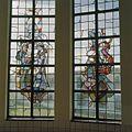 Interieur, trappenhuis, glas in loodraam - Egmond aan Zee - 20361291 - RCE.jpg