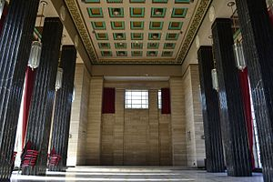 Temple of Peace and Health - The striking architecture of the interior of the Temple of Peace