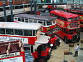 Interior of the London Transport Museum.JPG