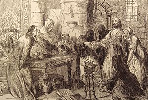 Interrogation Of Jacques De Molay