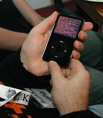 IPodLinux - An iPod booting iPodLinux