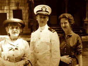 Eileen Harris - Eileen Harris at a Naval ceremony of her brother's, Michael Ivan Spiegel.