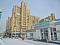 Irkutsk. February 2013. Barguzin, regional court, bus stop Volga, Diagnostic Center. - panoramio (17).jpg
