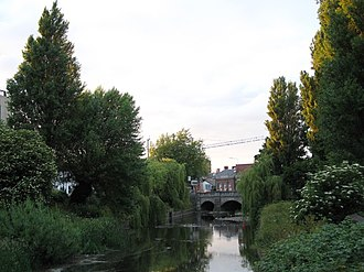 Ballsbridge - Ball's Bridge spanning the River Dodder