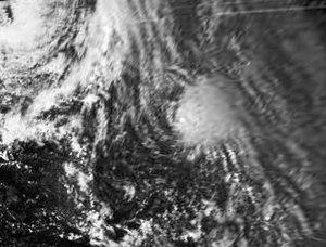 1978 Atlantic hurricane season - Image: Irma 4 October 1978