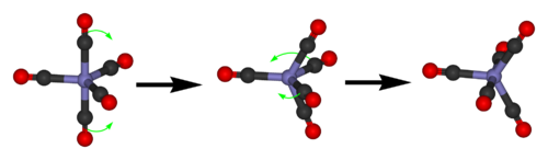Iron-pentacarbonyl-Berry-mechanism