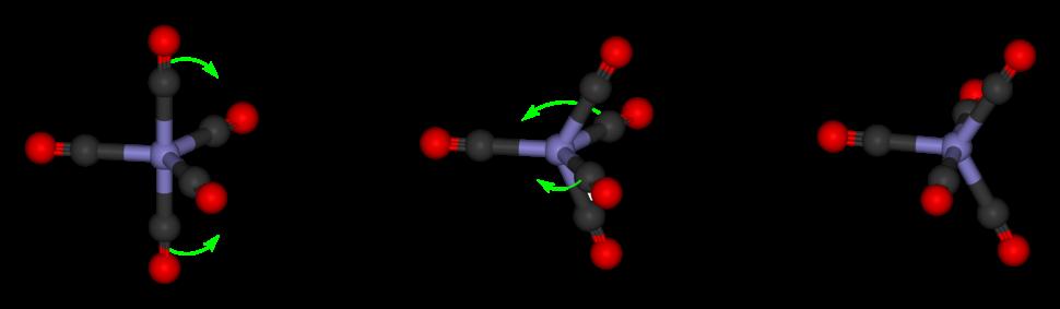 Iron-pentacarbonyl-Berry-mechanism