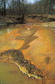 Acid mine drainage - Wikipedia, the free encyclopedia