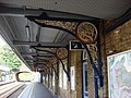 Iron platform canopy brackets, Beckenham Junction - geograph.org.uk - 971775.jpg