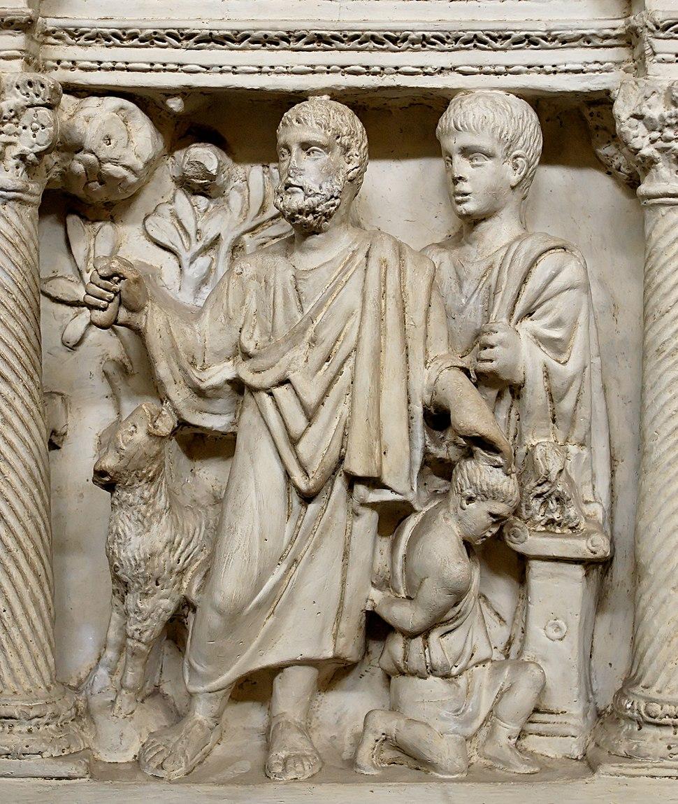 Isaac sarcifice Pio Christiano Inv31648